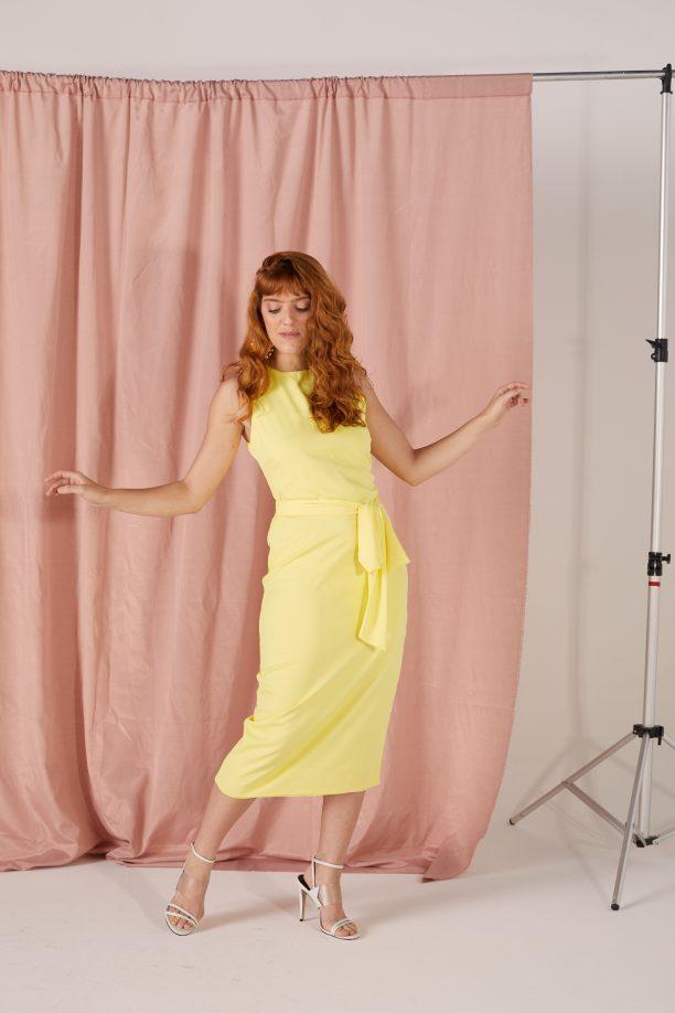 Vestido Iana - Amarelo