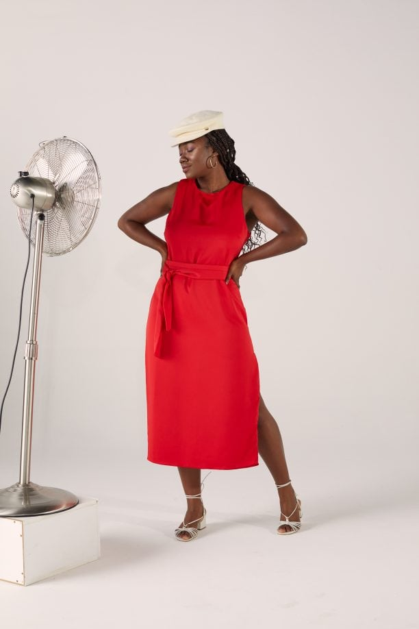 Vestido Iana - Vermelho